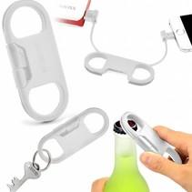 Apple-USB-Kabel mit Bierflashen-Öffner