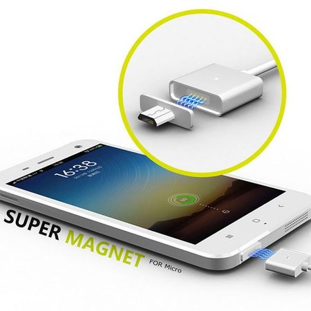 Geeek Magnetisch Micro USB Kabel MagCable MagSafe