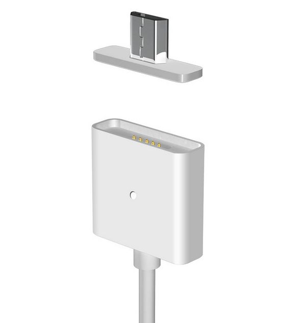 Magnetisch Micro USB Kabel MagCable MagSafe
