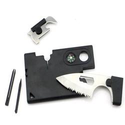 Geeek Wallet Multi-Funktionswerkzeug mit Messer
