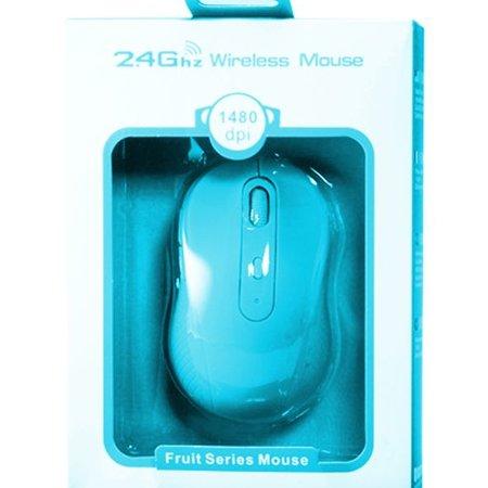 Geeek Fruit-Series Mouse - Blueberry 2,4Ghz drahtlose Maus – Blau