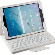 Bluetooth Case Samsung Tab 9.6 E - Weiß