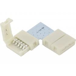 Geeek RGBW Led Strip Click Hoekconnector 90 graden Koppelstuk Soldeervrij