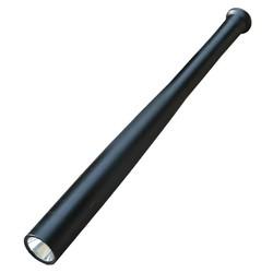 Geeek LED Zaklamp (honkbal) knuppel zwart aluminium