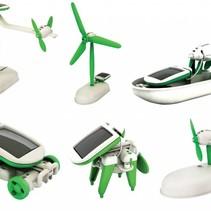 6-in-1 Solarroboter-Set