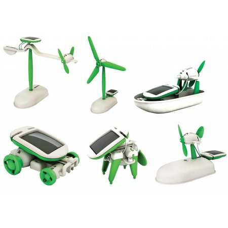 6-in-1 Mini Solar Robot Kit