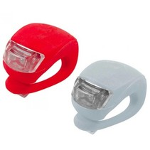 LED Bike Light 2 pieces (red & white)