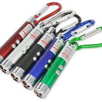 LED Laser Pen Pointer UV LED zaklamp sleutelhanger