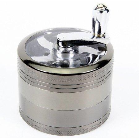 Geeek Metall-Grinder Luxuriöse 4-teilig 60 mm