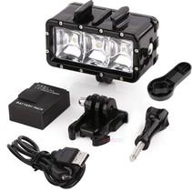 Unterwasser POV LED Beleuchtung für GoPro Hero - Wasserdicht