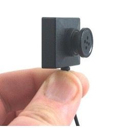 Geeek Complete Spy Button Camera Set