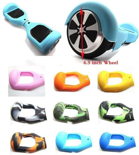 beschermhoes silicone case cover 6 5 inch hoverboard oxboard. Black Bedroom Furniture Sets. Home Design Ideas