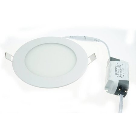 Geeek LED Panel Rund 155mm 12W Cold White