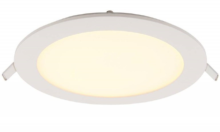 LED Paneel Rond 12W 155mm Warm Wit