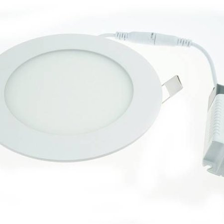 Geeek LED-Panel-Runde 6W 105mm Warm White