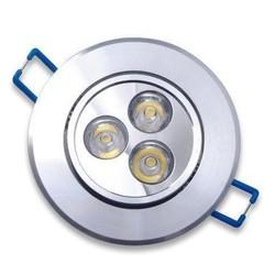 Geeek LED Inbouwspot 3 Watt Rond Warm Wit 3 stuks