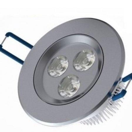 Geeek LED Einbau Runde 3 Watt Warmweiß 3 Stück