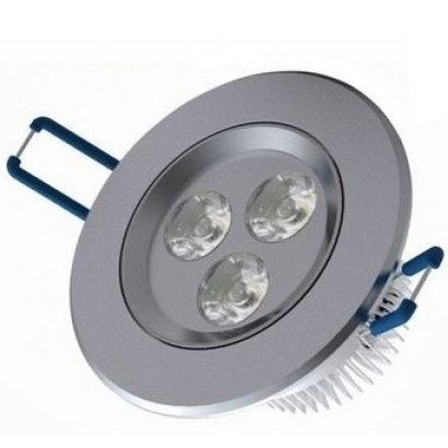Geeek Vertiefte LED 3 Watt Runde Cold White 3 Stück