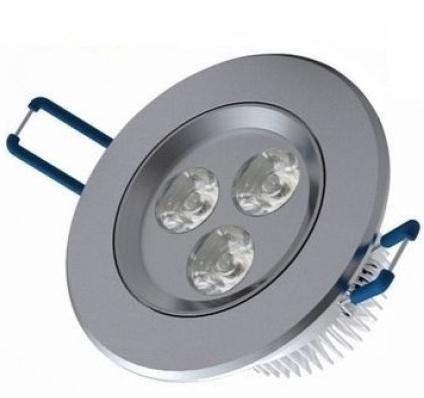 LED Inbouwspot 3 Watt Rond Koud Wit