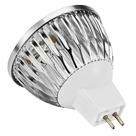 Geeek GU5.3 MR16 LED-Lampen-Punkt 4 Watt Cold White 3 Stück