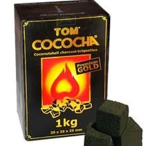 Tom Cococha Premium Gold 1kg Waterpijp Shisha Kolen