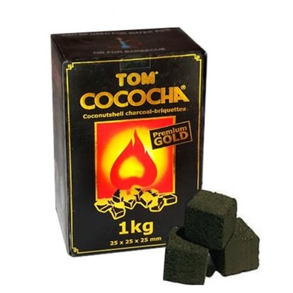 Tom Cococha Tom Cococha Premium Gold 1 kg Huka Shisha Kohle
