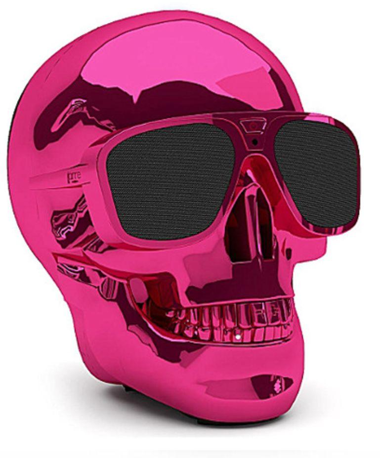 Aero Skull XS Bluetooth Schedel Luidspreker Pink Roze