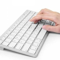 Wireless Bluetooth Keyboard QWERTY Arabic and Latin
