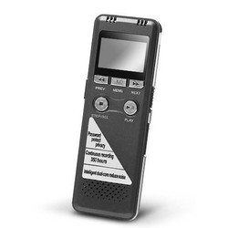 Geeek Professionelle Voice Recorder 8GB Speicher