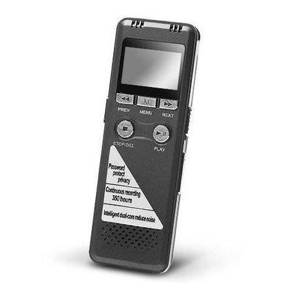 Geeek Professionelle Voice Recorder 8GB Speicher