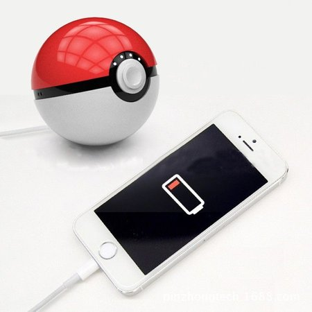 Geeek Pokeball Pokémon GO Power Bank 12000mAh
