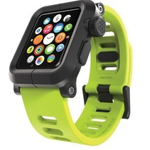EPIK Polycarbonate Case with Silicone Band Apple Watch 42mm Green