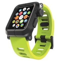 LunaTik EPIK Polycarbonat-Gehäuse mit Silikon-Band Apple Watch 42mm Grün