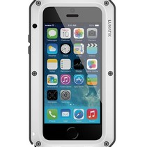 Taktik STRIKE Schutzhülle iPhone 5 / 5s / SE Weiß