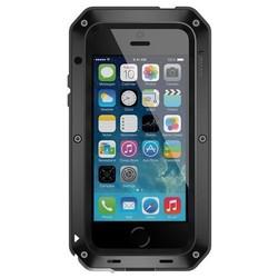 LunaTik Taktik STRIKE Schutzhülle iPhone 5 / 5s / SE Schwarz