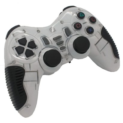 Geeek 2,4 GHz Wireless Controller Gamepad Joystick Weiß Ultra Shock