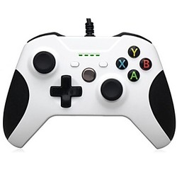 Geeek Xbox One Gaming Wired Controller Weiß