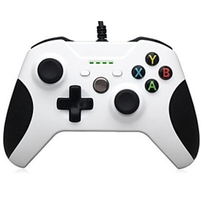 Geeek Wired Controller White for Xbox One (S)