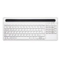 Geeek Multi-functional Bluetooth Wireless Keyboard White Windows iOS Android