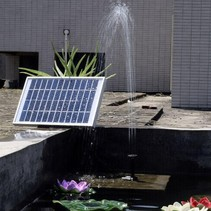 Strong Waterpompset Solar Fountain Solar Energy