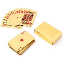Geeek Spielkarten Gold