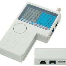 Kabeltester LAN USB BNC-LAN-Netzwerk Telefon Meter