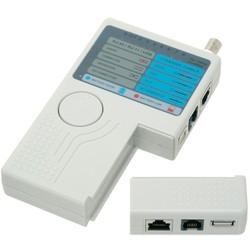 Geeek Netwerk Kabeltester LAN RJ-45 USB BNC Coax Telefoon RJ-11