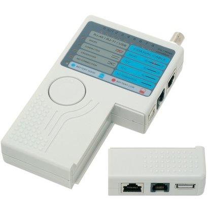 Geeek Kabeltester LAN USB BNC-LAN-Netzwerk Telefon Meter