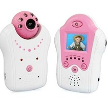 Compact-Baby-Monitor-Baby-Monitor mit Kamera Rosa