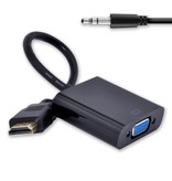 Geeek HDMI-auf-VGA-Adapter + (Audio) Adapter