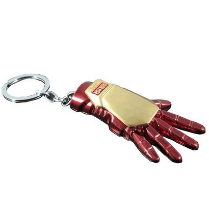 Geeek Iron Man Marvel Comics Avengers Keychain