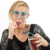 Brillen Drinkrietje Drinking Straw Glasses