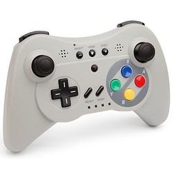 Geeek Wireless Pro Controller voor Wii U Pro - SNES Look