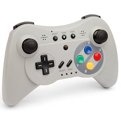 Geeek Wireless Controller Wii U Pro SNES Schauen